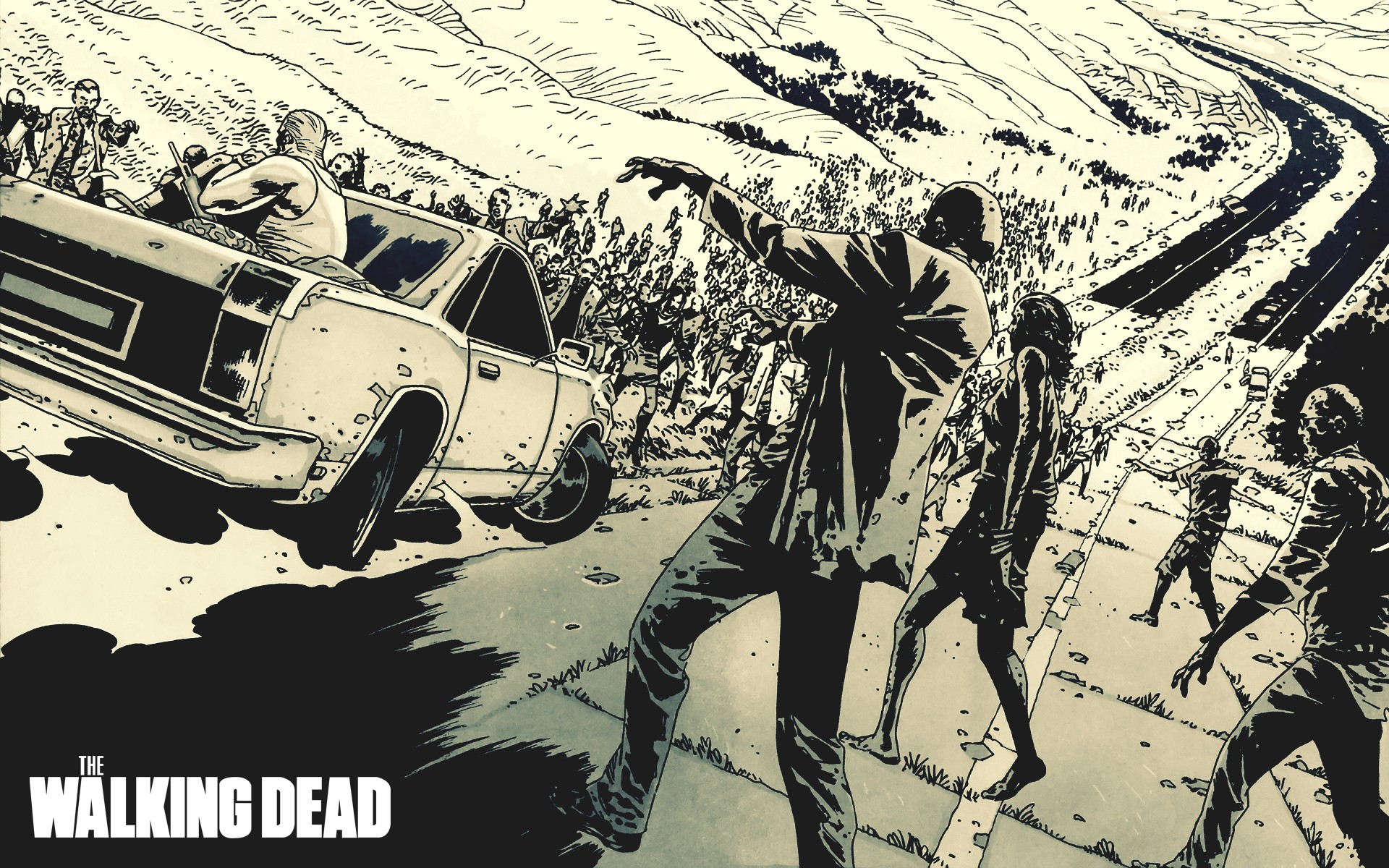 The Walking Dead Horda de zombies