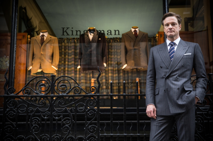 KSS_JB_D01_00117 - Colin Firth stars as Harry, an impeccably suave spy, in KINGSMAN THE SECRET SERVICE.