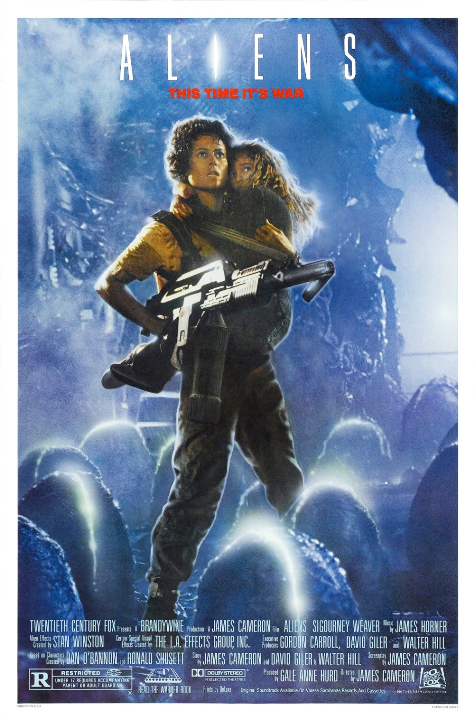 Aliens (1986) Recalled Version by Terry Lamb