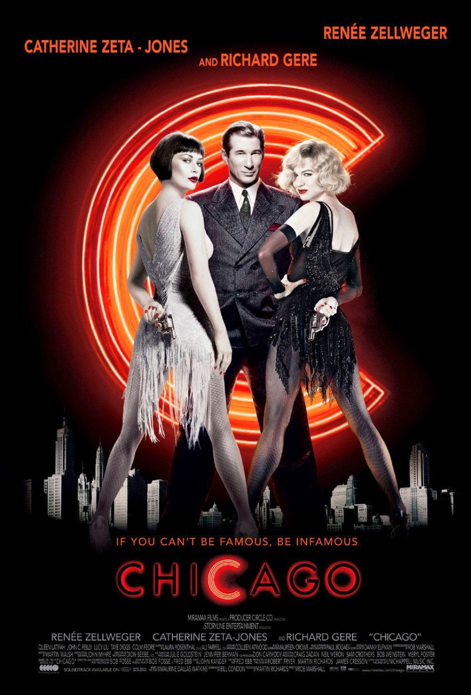 poster cartel pelicula cine poster chicago musical movie