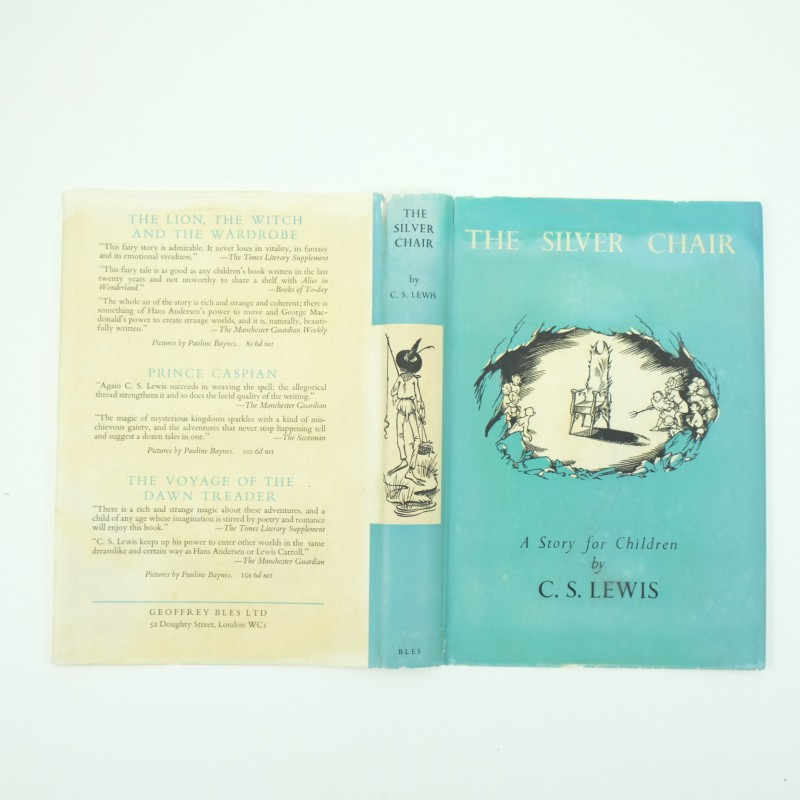 The-Silver-Chair-C.S.Lewis-1st-edition-with-DJ-7-e1452242900423