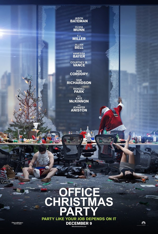 office_christmas_party_poster