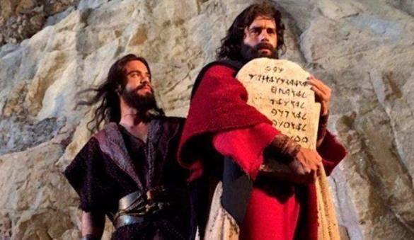 Resultado de imagen de moises y los diez mandamientos