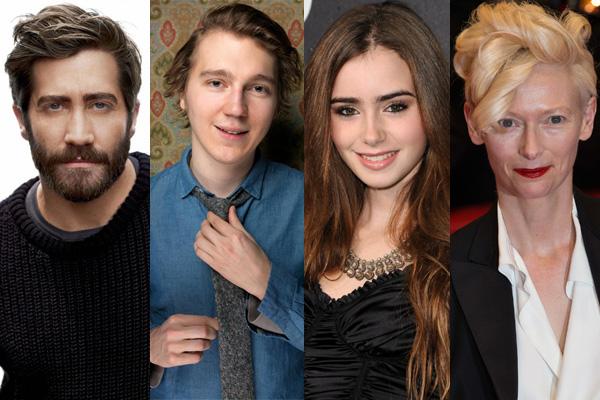 Tilda Swinton, Jake Gyllenhaal, Paul Dano y Lily Collins